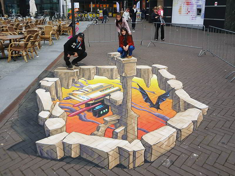 3d-streetpainting-remko-van-schaik-3d-street-art-lelystart-festival-lelystad-2012-1