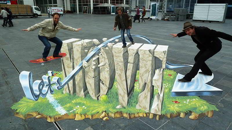 """""""Let's Move"""" Campaign, The Hague"""