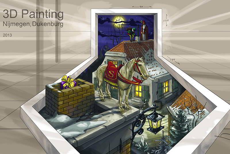 3d-streetpainting-3d-street-art--remko-van-schaik-sint-nicolaas-nijmegen-1