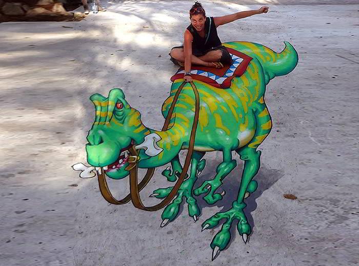3D Streetpaint Festival - Ramat HaSharon Israël