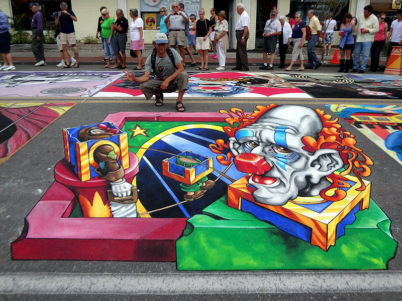 Chalk festival 2012 - Sarasota USA