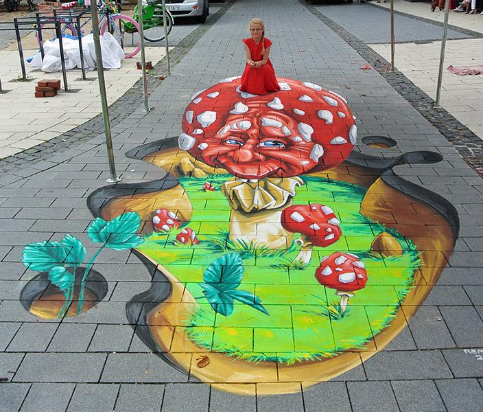 Internationaal Streetart Festival, Sögel, Germany.