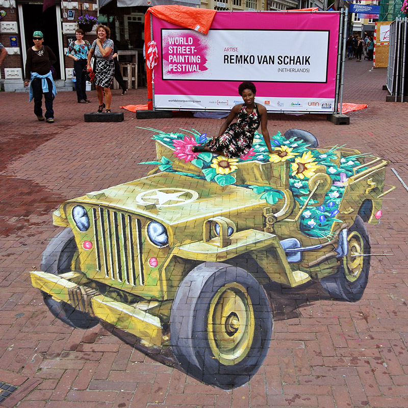 World of Streetpainting Festival - Arnhem