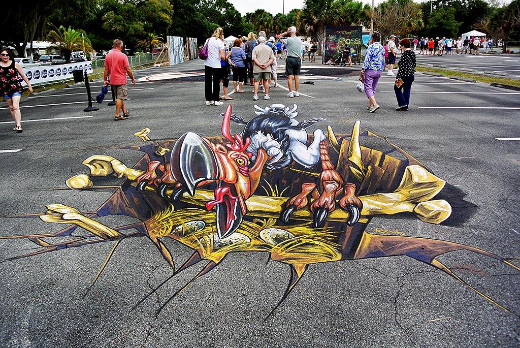 Chalk Festival 2014 - Venice Florida