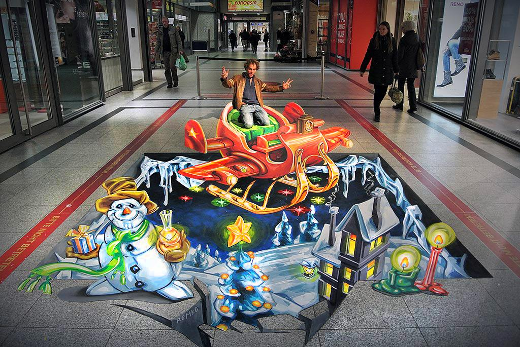 3D Streetart at Herold Center - Germany