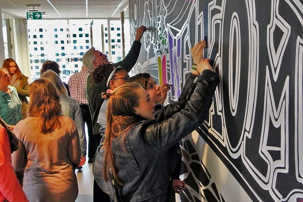 3d-streetpainting-remko-van-schaik-wandschildering-christelijke-hogeschool-ede-3