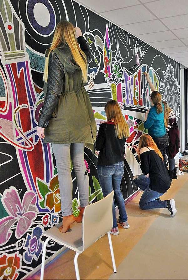 3d-streetpainting-remko-van-schaik-wandschildering-christelijke-hogeschool-ede-8