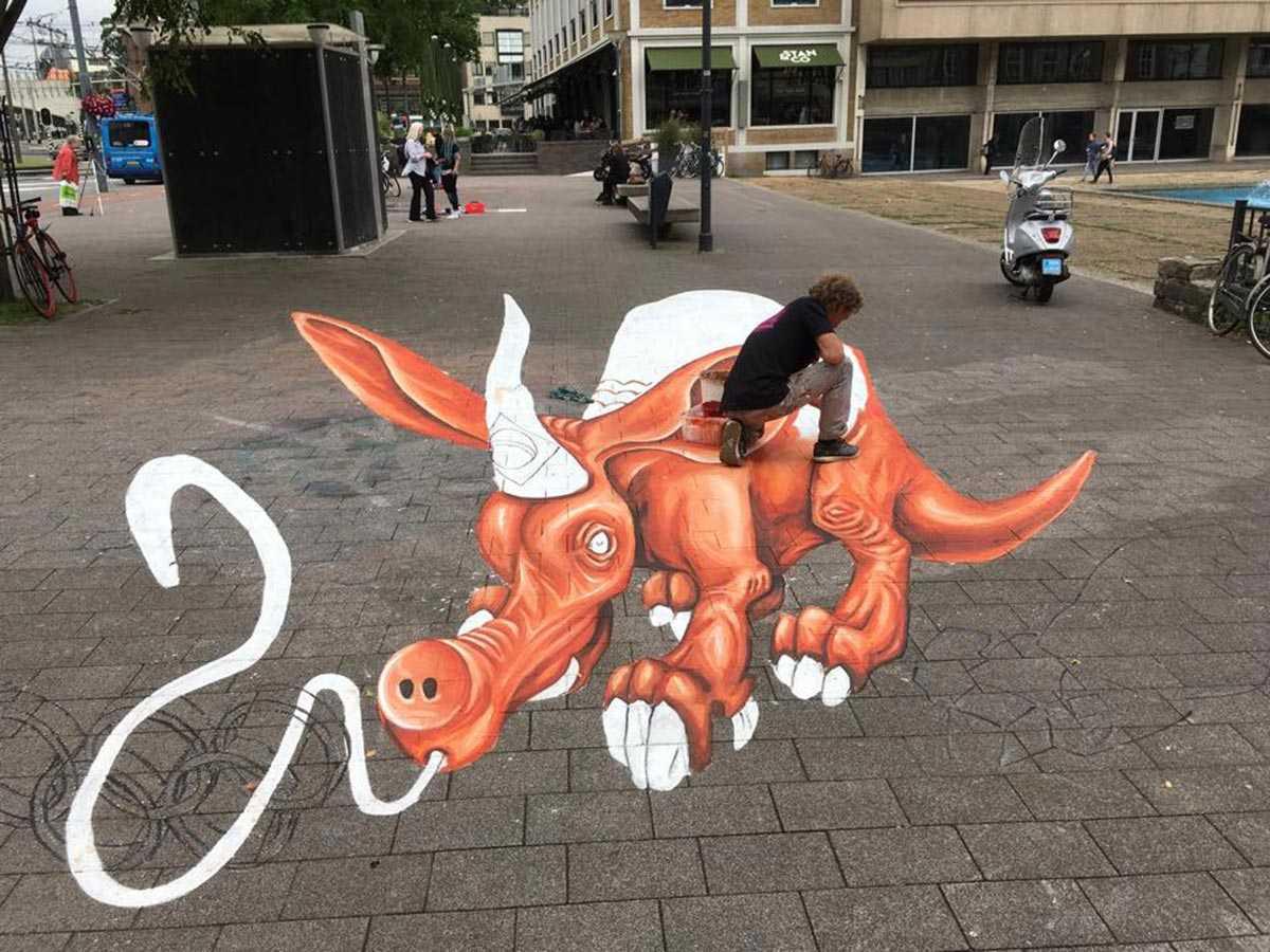 3d-streetpainting-3d-worldstreetpainting-festival-arnhem-olympic-aardvark-by-remko-van-schaik-7