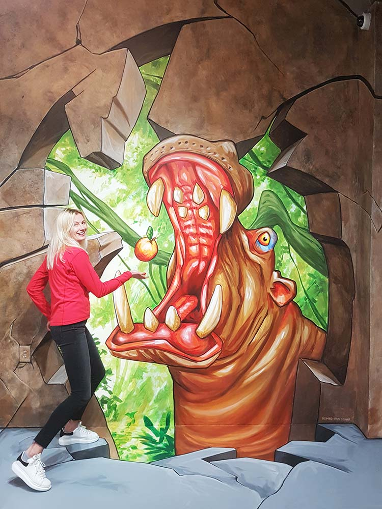 3D Streetpaintings at Museum of Illusions, San Francisco