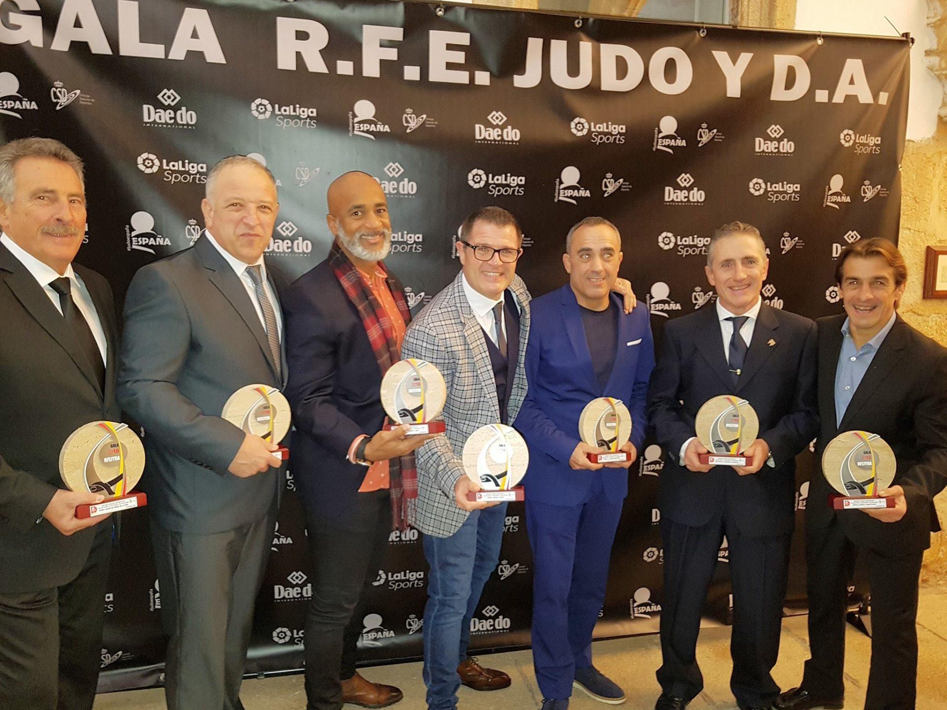 TM5 equipo campeón de Europa de Judo veteranos 2019