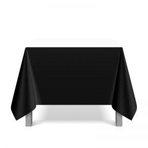Tafellinnen Rechthoek Wit of Zwart 150 x 300 cm