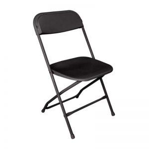 Vouwstoel Zwart