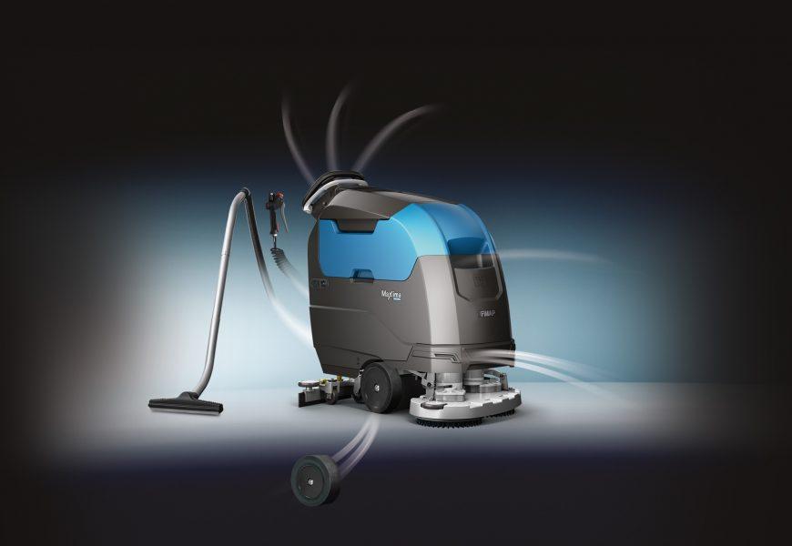 Maxima gulvvasker reducerer omkostninger