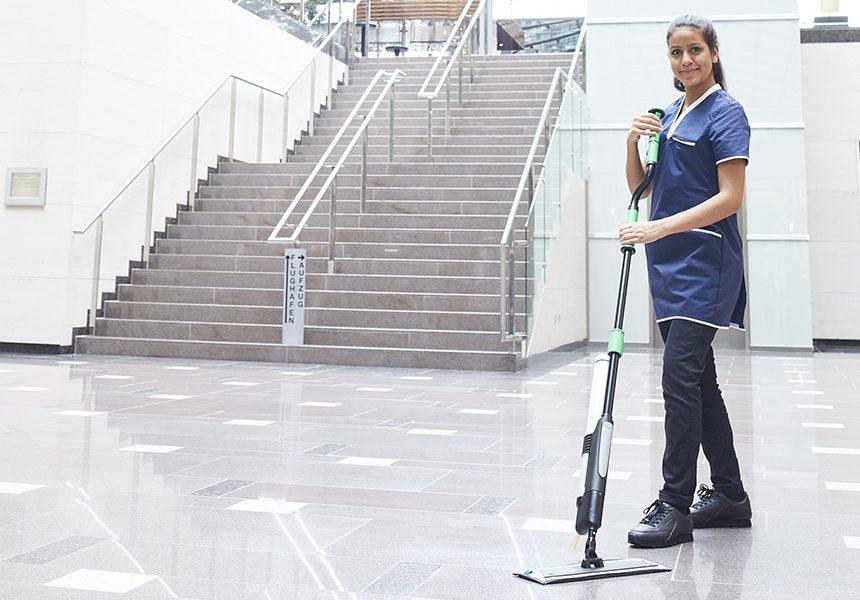 Ergonomisk og effektiv gulvmoppe