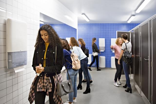 Banebrydende innovation forbedrer håndteringen af høj trafik på toiletterne