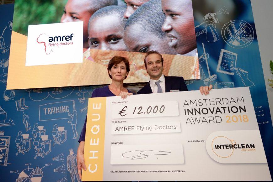 12.000 euro fra Interclean til flyvende læger