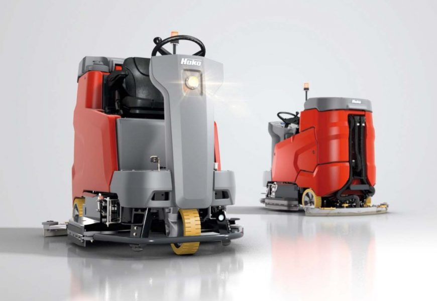 Hako B175 R sætter nye standarter i klassen.