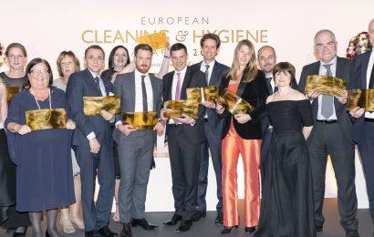 Vinderne af European Cleaning & Hygiene Awards 2018