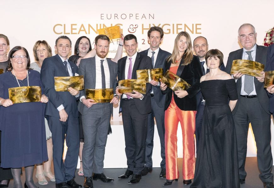 Vinderne af European Cleaning & Hygiene Awards 2018
