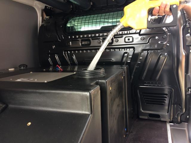 Fuldautomatiske tankstationer til vinduespudsere