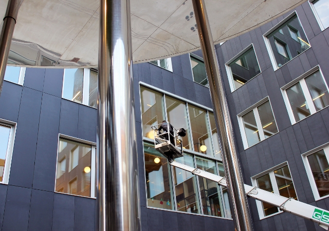 Kvalitet afgjorde udbud på vinduespolering