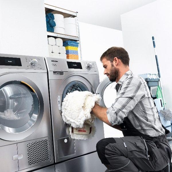 Vaskemaskiner udviklet til rengøringsbranchen