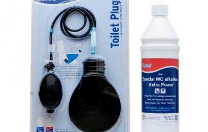 VVS-grossister lancerer ny rengøringsopfindelse til installatører og byggemarkeder