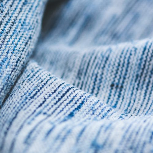Canva - Close Up Blue Textile Background