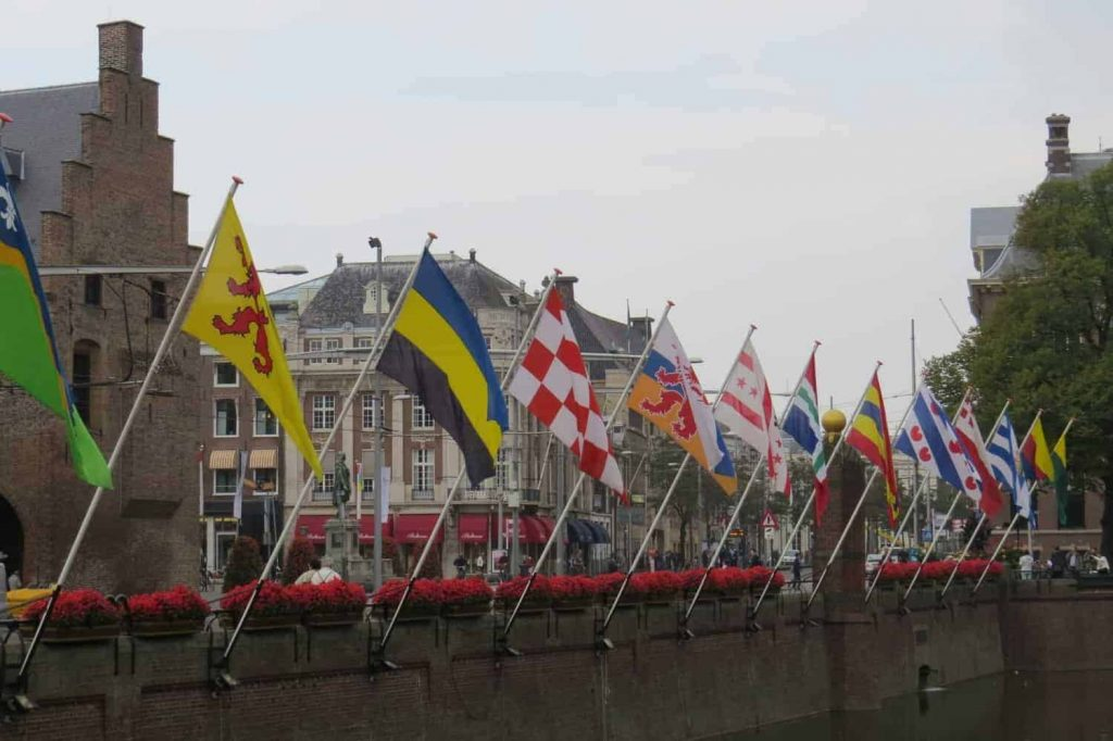 De vlaggen van alle provincies