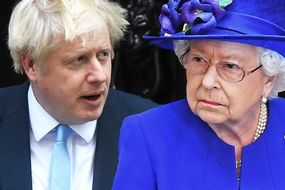 Het Britse staatshoofd met haar premier