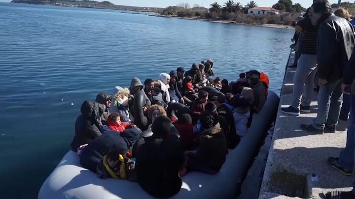 Mediabericht: De Republikeinen jaargang 3 nr. 3 Aandacht voor islamitische asielzoekers op Lesbos