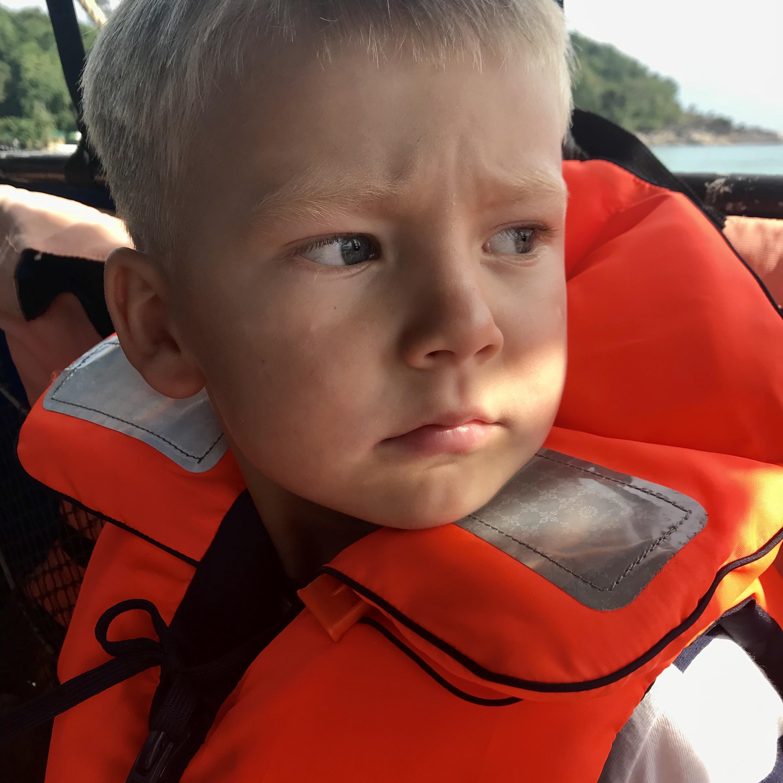 Love på väg till Koh Lipe med speedboat.