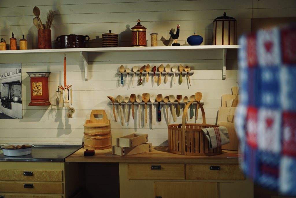 """Bild från utställningen """"Hållbart hemma"""" på Nynäs slott."""