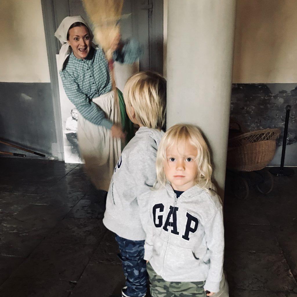 Dramatiserad visning på Nynäs slott