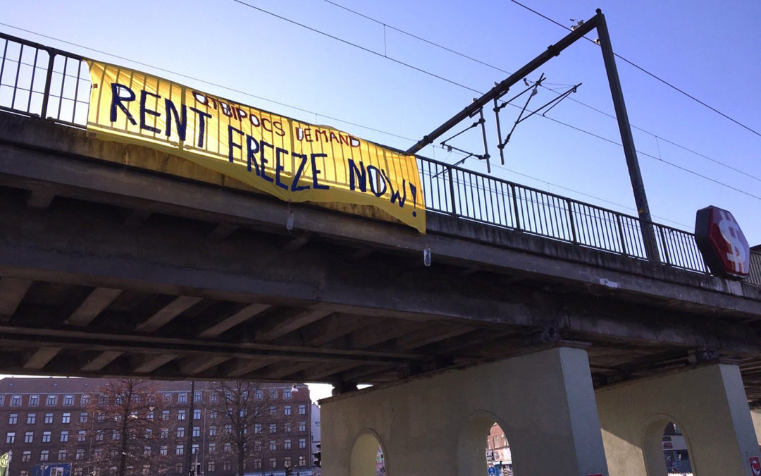 Aktivister kræver kollektivt husleje-stop under coronakrisen