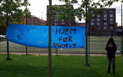 "Demonstration mod tvangsflytninger: ""Vi nægter at flytte!"""