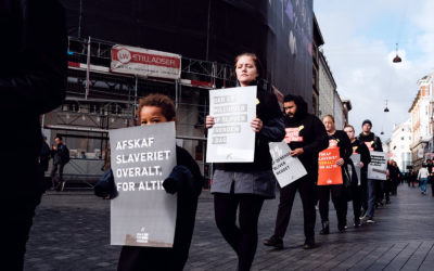 Walk for Freedom: Afskaf slaveriet overalt