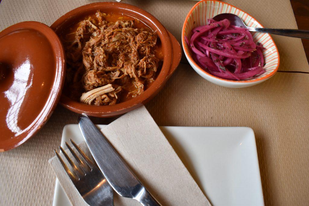 Cochinita pibil restaurante mexicano