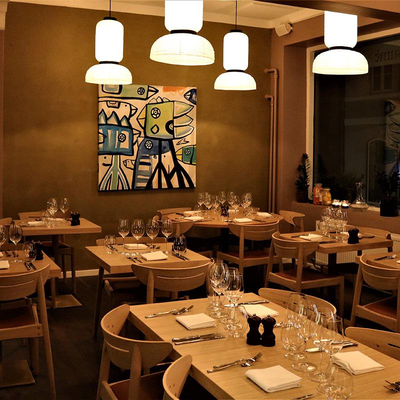 Table reservation - Restaurant Resumé