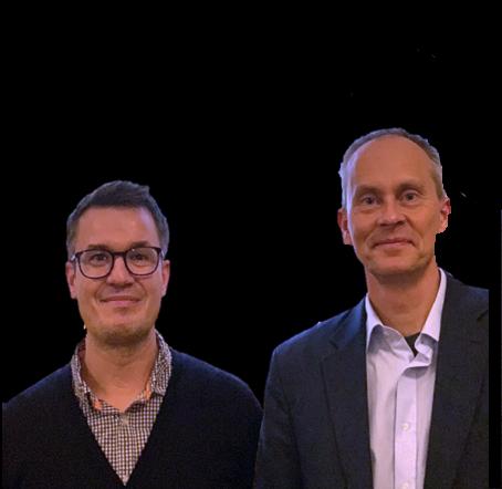Michael Beligiannis og Kim Oechsle Stifterne af ReSTEAM stresbehandling