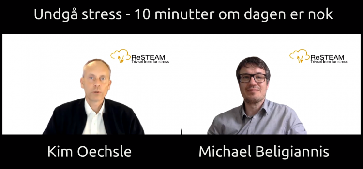 Kim Oechsle, Michael Beligiannis om mindfulness