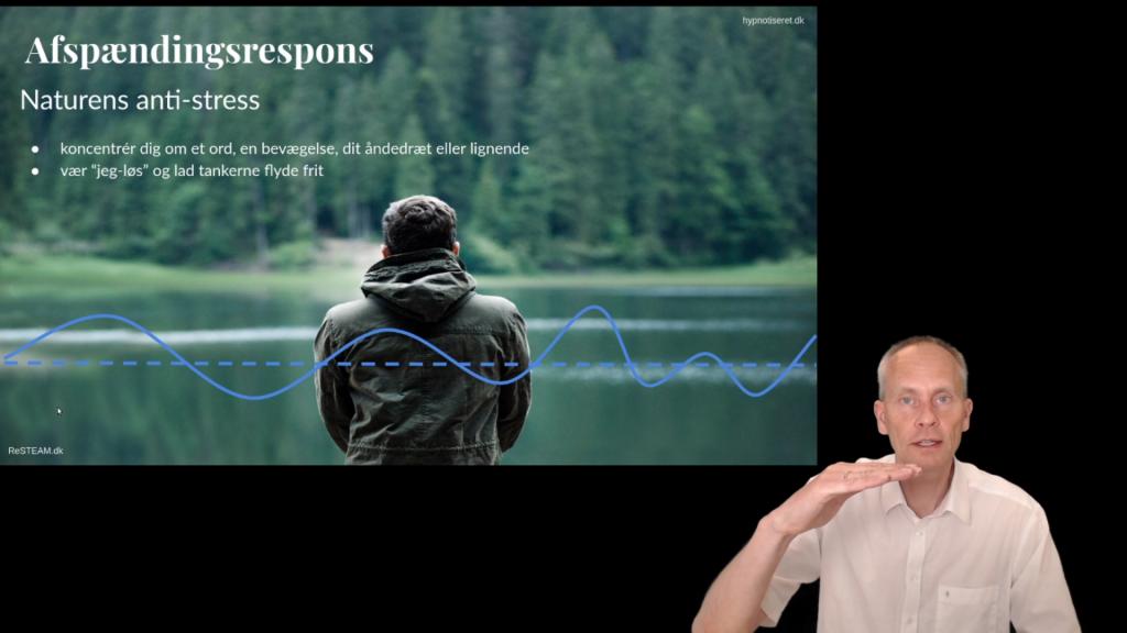 Fra webinaret Aktiv stressreduktion af Kim Oechsle, hypnotiseret.dk