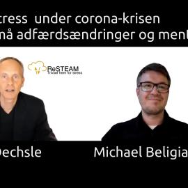 Kim Oechsle og Michael Beligiannis diskuterer adfærdsændringer