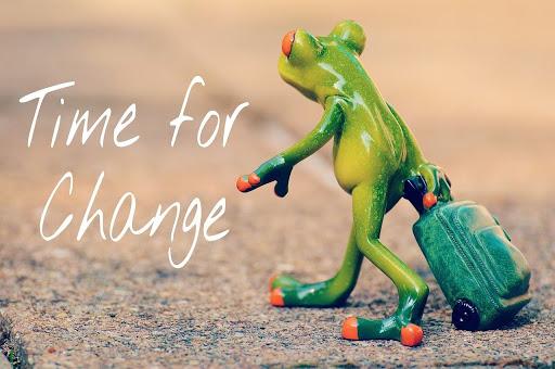 Tid til forandring!