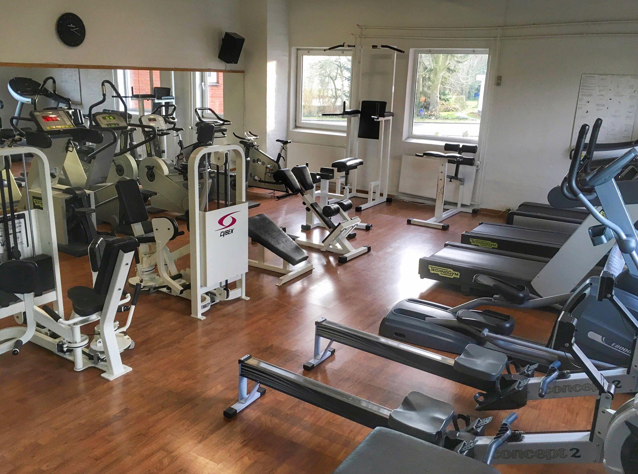 Træningscenter i Ringe - Løbe og romaskine