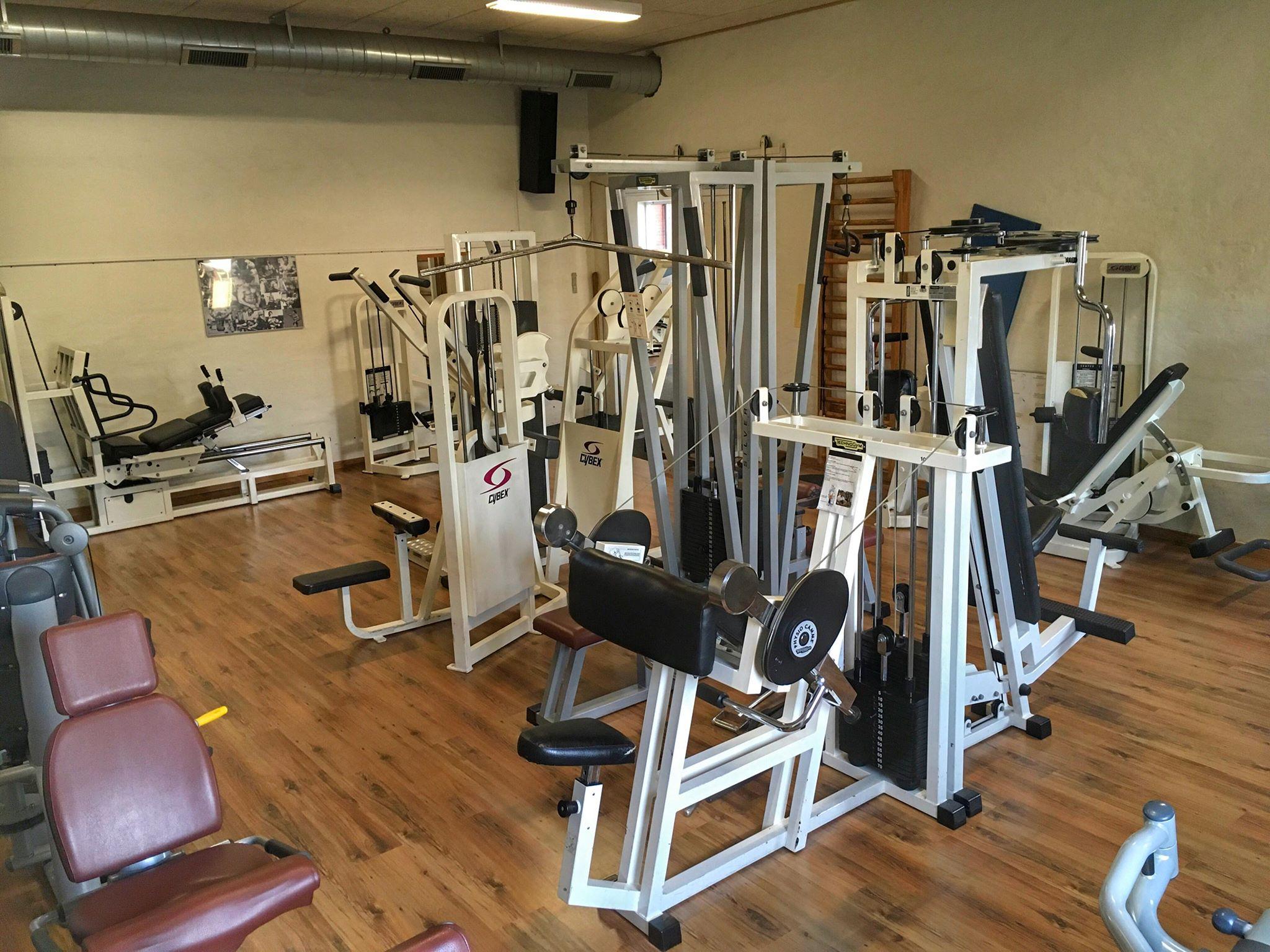 Træningscenter i Ringe - Cybex maskiner