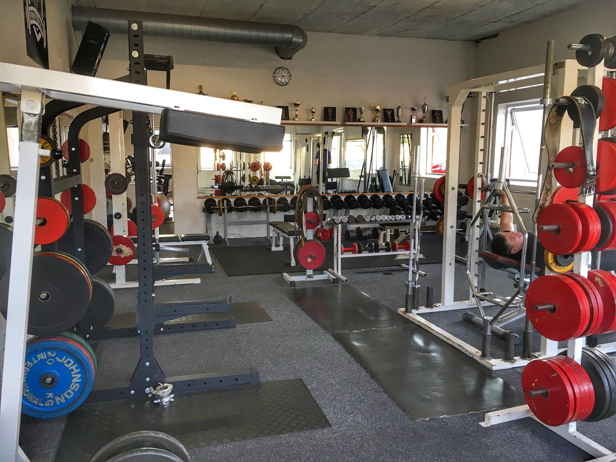 Træningscenter i Ringe - frivægte