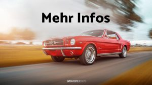 Gutschein Ford Mustang Oldtimer 1965 mieten: Wochenende