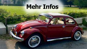 Gutschein VW Käfer Oldtimer mieten: 4 Stunden
