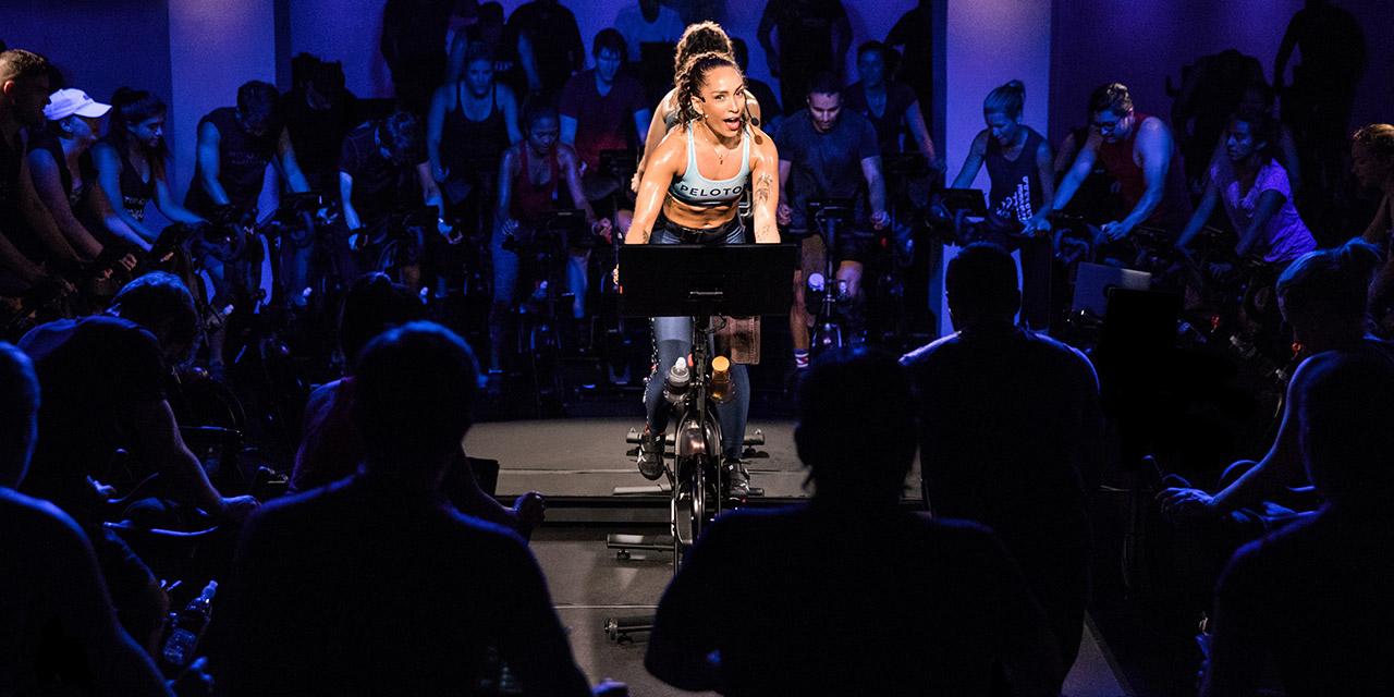 cycling studio peloton
